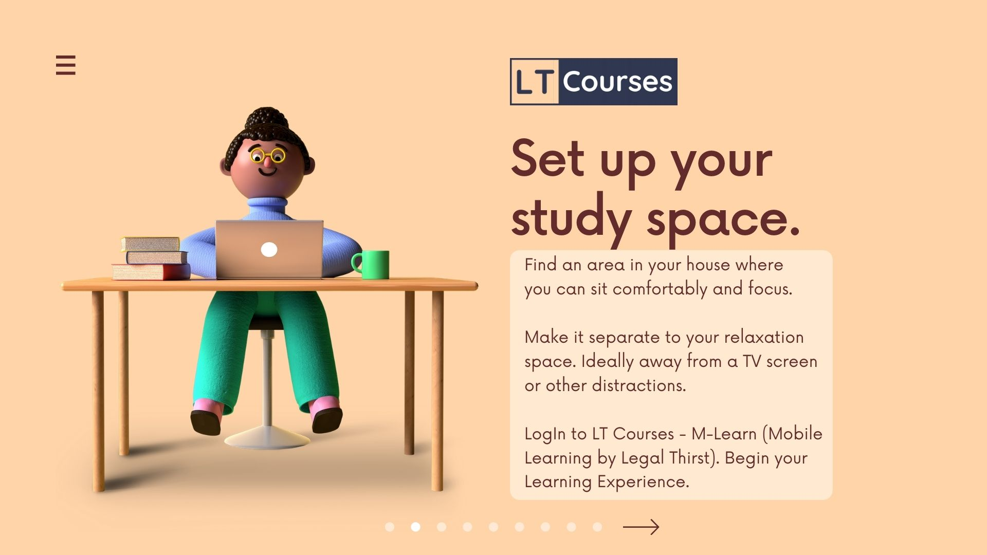 Start Learning from Home by LT Courses M-Learn
